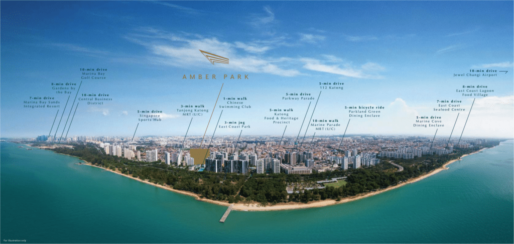 amber park east sider location map